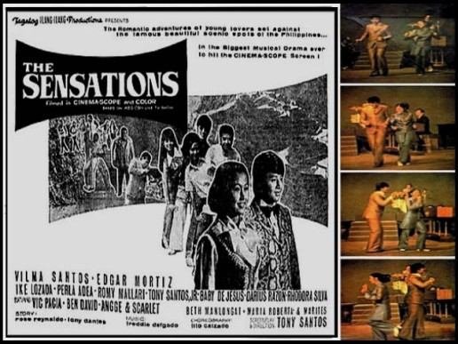 Discography THE SENSATIONS 4