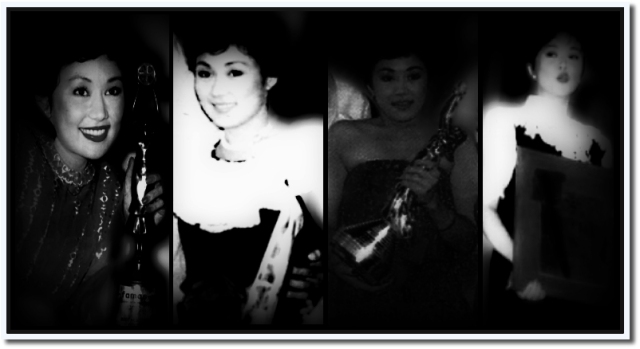 Figure 1: Best Actress from FAMAS, Gawad Urian, Film Academy of the Philippines, and CMMA