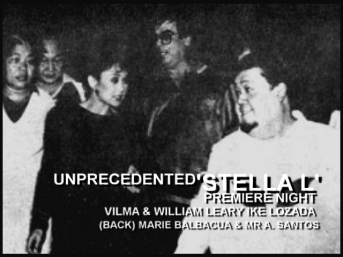 Vi with Ike Lozada, Wiliam Leary