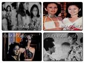 Vi with Barbara Perez, Rita Gomez, Celia Rodriguez, Lolita Rodriguez