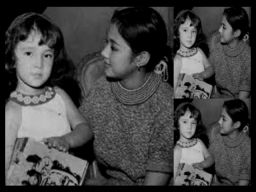 VI with young Liezle Martinez (Daughter of Amalia Fuentez)