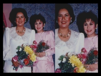 Vi with Susan Roces
