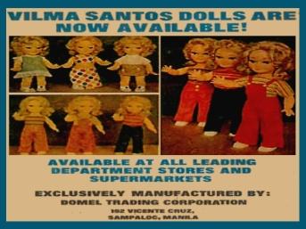 VIlma Santos Dolls - Circa 1970s