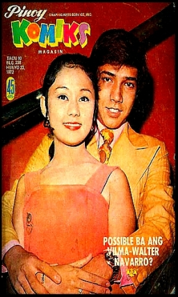 COVERS - 1972 Pinoy Komiks