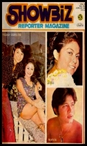 COVERS - 1972 Showbiz Reporter