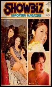 COVERS - 1972 Showbiz Reporter