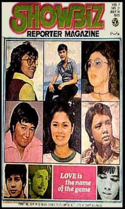 COVERS - 1973 Showbiz Reporter Jul 14