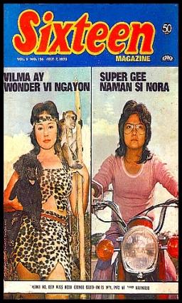 COVERS - 1973 Sixteen Jul 7 1973