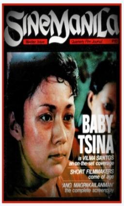 COVER - SinaManila Mag1984