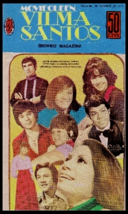 COVER - Vilma Santos Showbiz Mag 1972