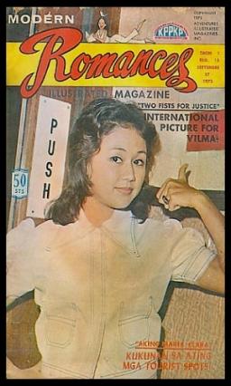 COVERS - 1970S Modern Romances Sep 1973