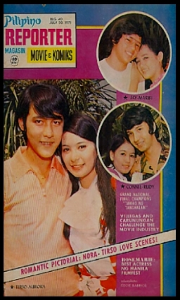 COVERS - 1970S Pilipino Reported 1971