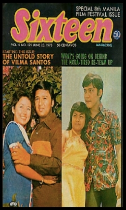 COVERS - 1970S Sixteen Magazine 1973 Jun