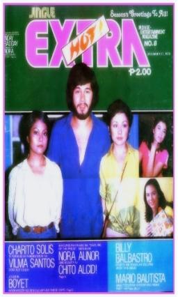 COVERS - Extra 21 Dec 1979