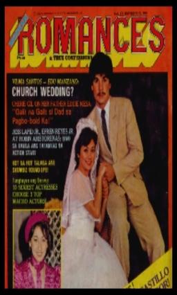 COVERS - MODERN ROMANCES 1980 1