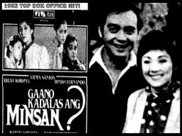 FILMS - GAANO KADALAS ANG MINSAN