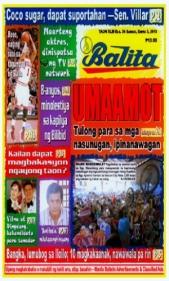 COVERS - 2014 Balita December