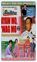 COVERS - 2014 Balita Nov