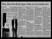 MEMORABILIA - News Clippings - CIFF 2003 2