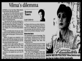 MEMORABILIA - News Clippings - Dillema