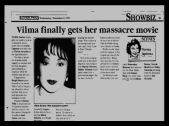 MEMORABILIA - News Clippings - Lipa Massacre