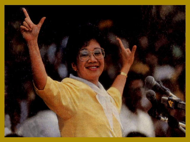 essay about corazon aquino President corazon aquino leadership style this week the topic that i found interesting is the presidency of maria corazon aquino president aquino was said.