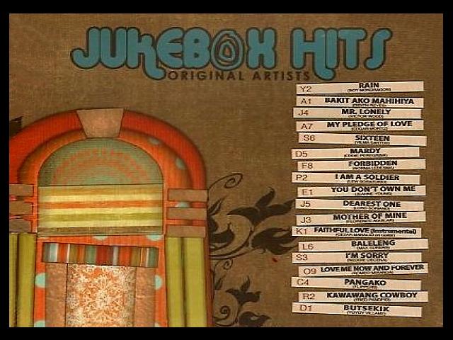 OPM Jukebox Hits – Original Artists | Star For All Seasons