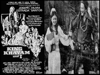 FILMS - KING KAYAM AND I