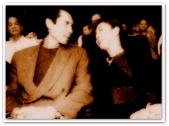 MEMORABILIA - Vi with Lou Diamond Philips 2003