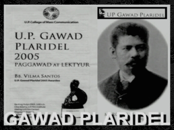 ARTICLES - Gawad Plaridel 1