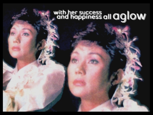 ARTICLES - With her success and happiness all aglow 1