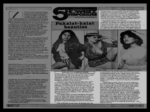 NEWS CLIPPINGS - Film Criticism Movie Flash June 14, 1984