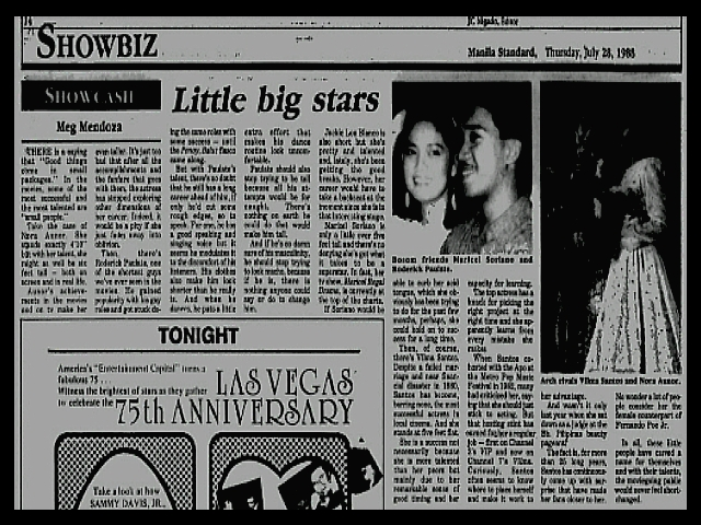 NEWS CLIPPINGS - Little Big Stars