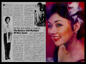 NEWS CLIPPINGS - Nalagpasan na si Nora