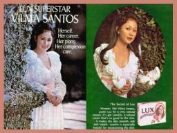 MEMORABILIA - product endorsement Lux 1974 1