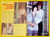 MEMORABILIA - Vi with Michael Jackson at Kislap