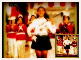 MEMORABILIA - Ate Vi as band majorette