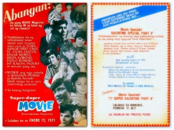 MEMORABILIA - Movie Magazine ads