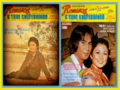 MEMORABILIA - Vi in Modern Romances Mags 1970s