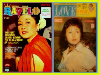 MEMORABILIA - Vi in Ravelo and Love Mags 1970s