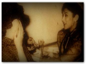 MEMORABILIA - Vi with Mother Lily 1984