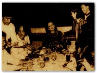 MEMORABILIA - Vi with Roderick and Tina R 1984