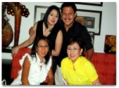 MEMORABILIA - Vi with Tirso and Lyn Cruz
