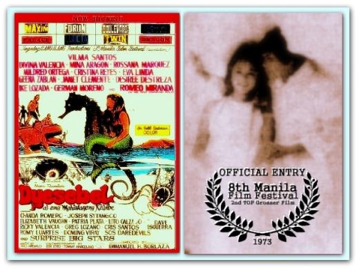 FILM - Dyesebel at ang Mahiwagang Kabibe 1973