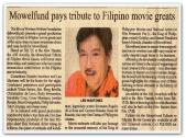 MEMORABILIA - Manila Bulletin 11 Feb 11 2007 Mowelfund