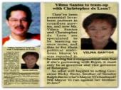 MEMORABILIA - Manila Bulletin 11 Feb 2007 Vi and Boyet