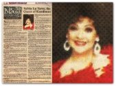 MEMORABILIA - Manila Bulletin 11 March 2007 Queen of Kundiman Sylvia La Torre