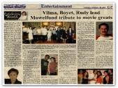 MEMORABILIA - Manila Bulletin 20 Feb 2007