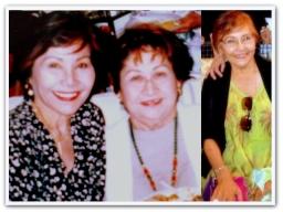 MEMORABILIA - Cleo Cruz with Mama Santos