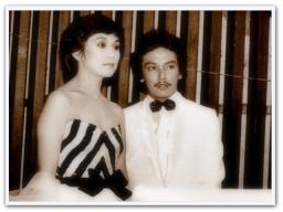MEMORABILIA - Vi with Danny Javier